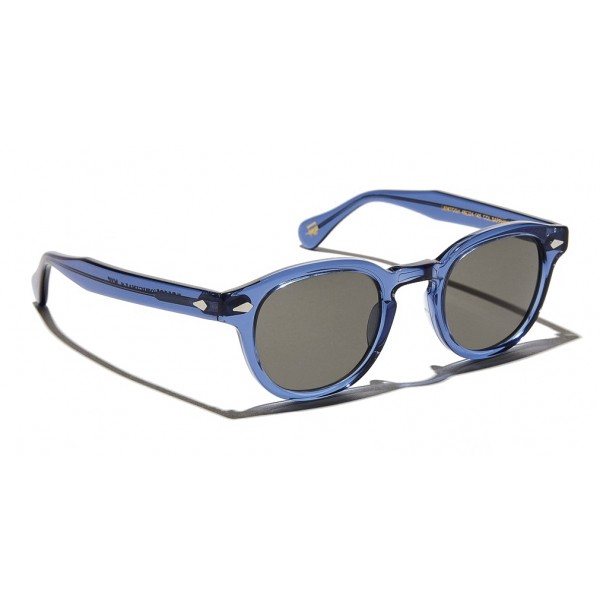 Moscot - Lemtosh Sun - Sapphire - Sunglasses - Moscot Originals - Moscot Eyewear