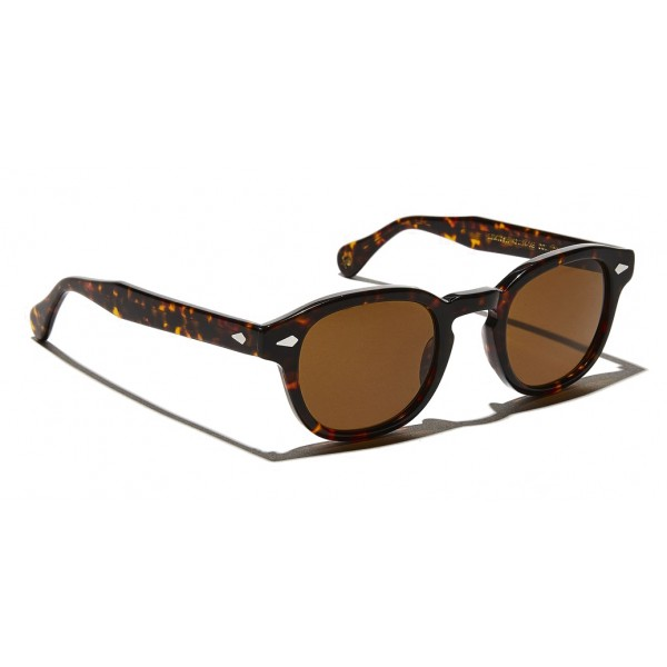 Moscot - Lemtosh Sun - Tortoise with Cosmitan Brown Lens - Occhiali da Sole - Moscot Originals - Moscot Eyewear