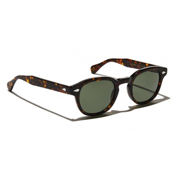 Moscot - Lemtosh Sun - Tortoise with G-15 Lens - Sunglasses - Moscot Originals - Moscot Eyewear