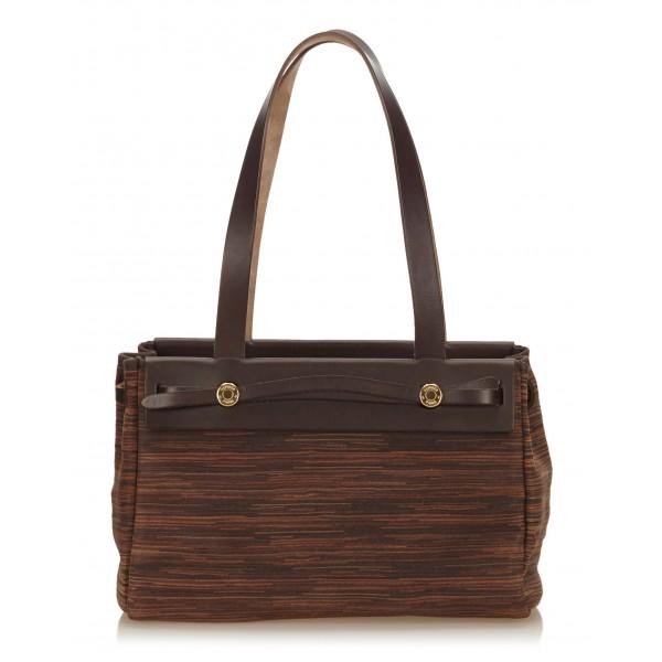 4179b63ceb Hermès Vintage - Taurillon Sac Good News PM Bag - Marrone - Borsa in Pelle -