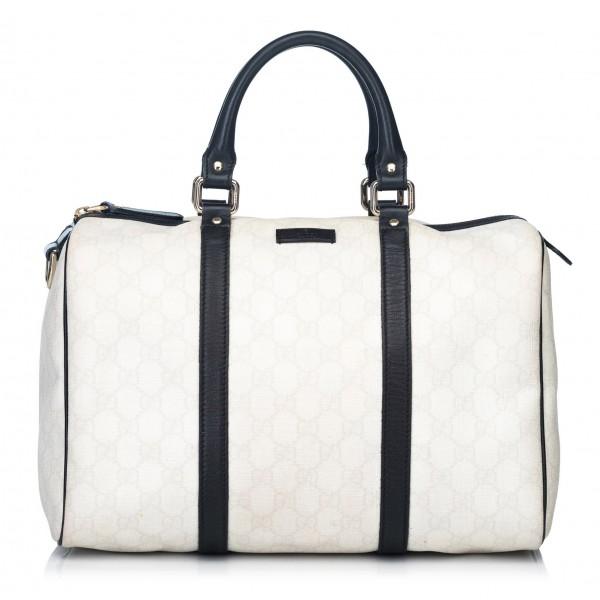 2e1a9d54a Gucci Vintage - Guccissima Joy Boston Bag - White - Leather Handbag -  Luxury High Quality - Avvenice