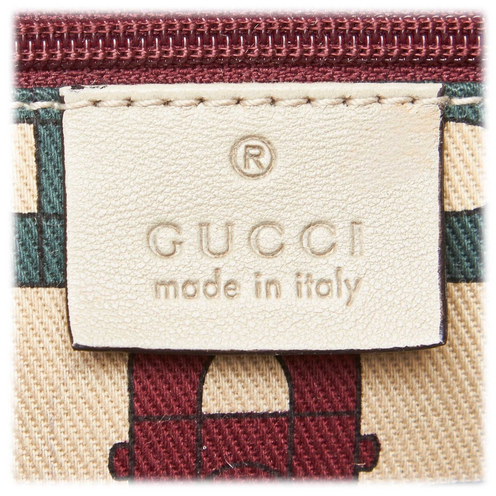 6e61cde4cec4 ... Gucci Vintage - Guccissima Leather Tribeca Messenger Bag - White -  Leather Handbag - Luxury High ...
