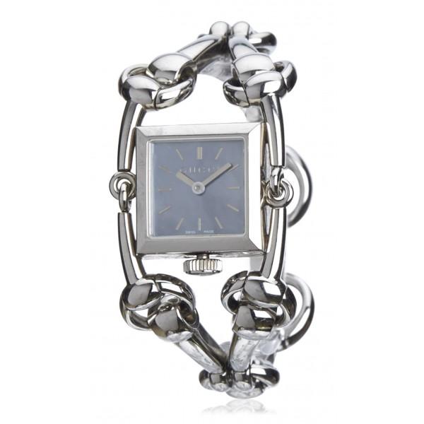 Gucci Vintage - Signoria Watch - Argento Blu - Orologio Gucci - Alta Qualità Luxury
