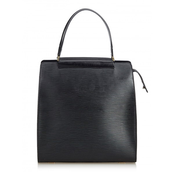 Louis Vuitton Vintage - Epi Figari MM Bag - Black - Leather and Epi Leather Handbag - Luxury High Quality