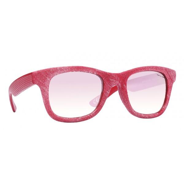 e52113cd0626 Italia Independent - I-I Mod. Denim Edition 090V - Red - 0090D.053.053 -...  Sunglasses ...