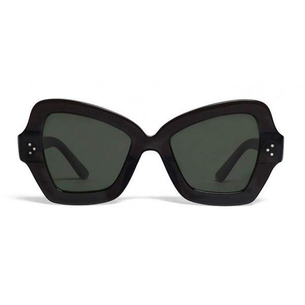 Céline - Occhiali da Sole a Farfalla in Acetato - Grigio Scuro - Occhiali da Sole - Céline Eyewear