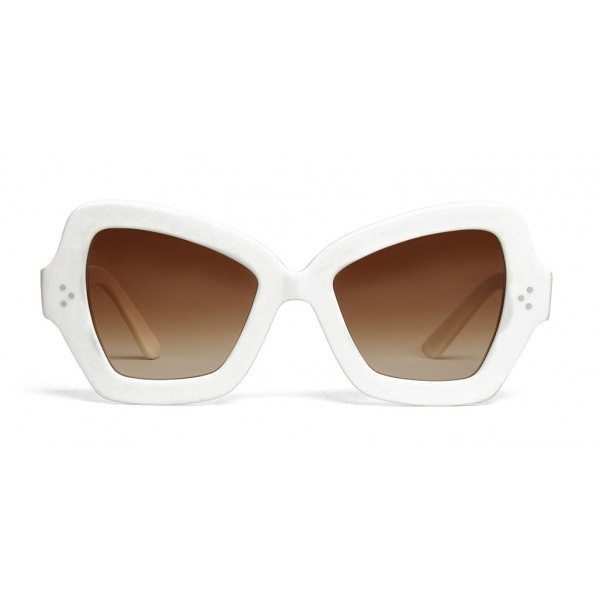f70104302c02e Céline - Butterfly Sunglasses in Acetate - Optic White - Sunglasses - Céline  Eyewear - Avvenice