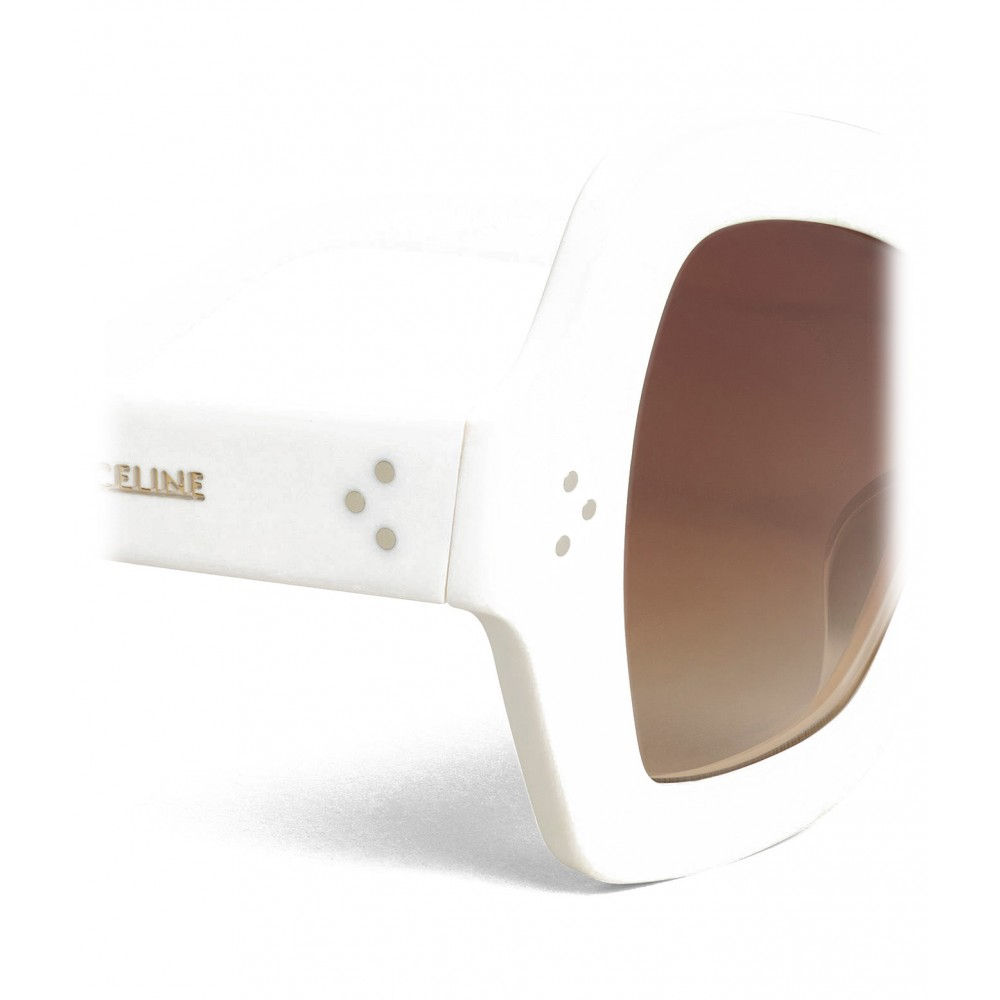 c037667712a9 ... Céline - Butterfly Sunglasses in Acetate - Optic White - Sunglasses - Céline  Eyewear