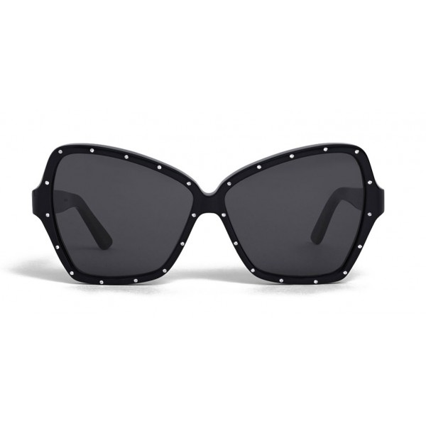 Céline - Butterfly Sunglasses in Acetate and Crystals - Black - Sunglasses - Céline Eyewear