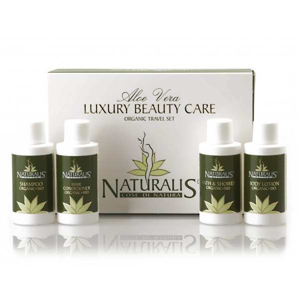 Naturalis - Natura & Benessere - Luxury Beauty Care - Organic Travel Set - Aloe Vera