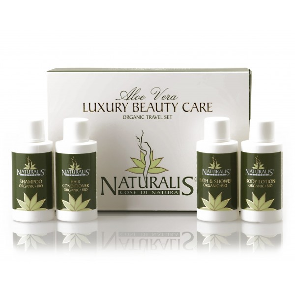 Naturalis - Natura & Benessere - Luxury Beauty Care - Travel Set - Set Cura di Bellezza Bio