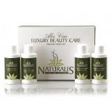 Naturalis - Natura & Benessere - Luxury Beauty Care - Travel Set - Set Cura di Bellezza Bio - Aloe Vera