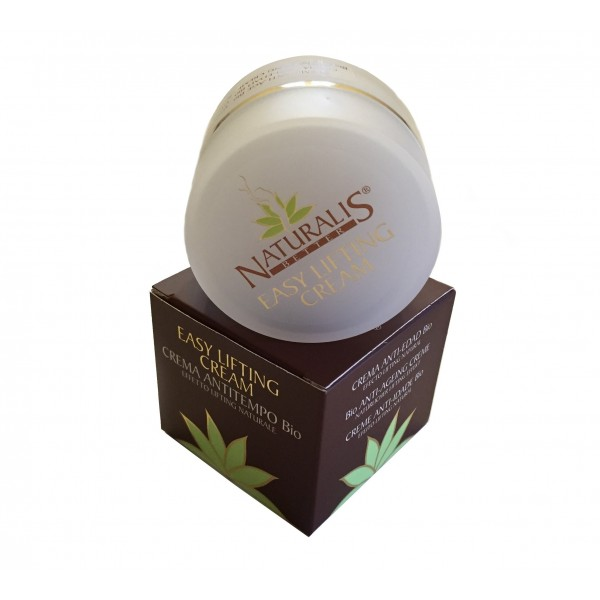 Naturalis - Natura & Benessere - Crema Anti Ageing Bio - Aloe Vera - Effetto Lifting Naturale