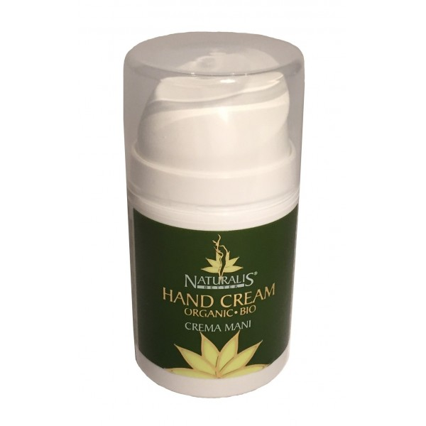 Naturalis - Natura & Benessere - Organic Hand Cream - Aloe Vera - Crema Mani Bio