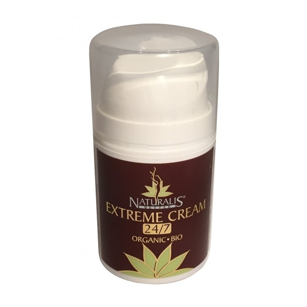 Naturalis - Natura & Benessere - Organic Extreme 24/7 Cream - Aloe Vera - Crema Bio