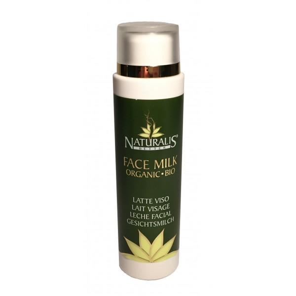 Naturalis - Natura & Benessere - Organic Face Milk - Aloe Vera - Organic Milk