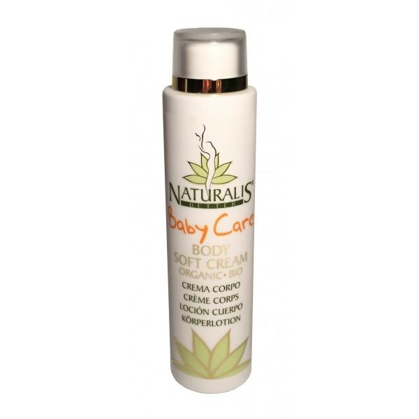 Naturalis - Natura & Benessere - Baby Care - Organic Baby Soft Cream - Aloe Vera