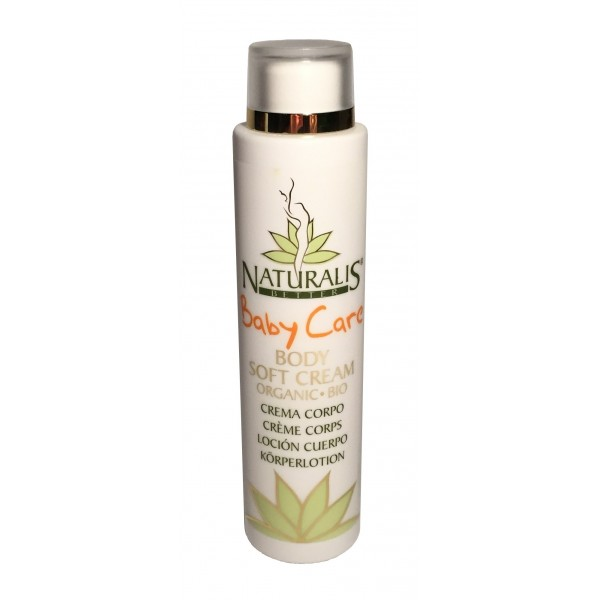 Naturalis - Natura & Benessere - Baby Soft Cream - Crema Morbida Bambino Bio - Aloe Vera
