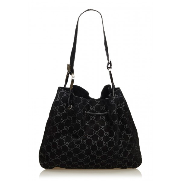 Guccissima Jacquard Tote Bag