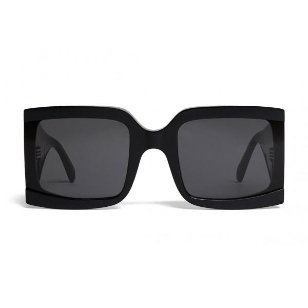 Céline - Oversized Sunglasses in Acetate - Black - Sunglasses - Céline Eyewear