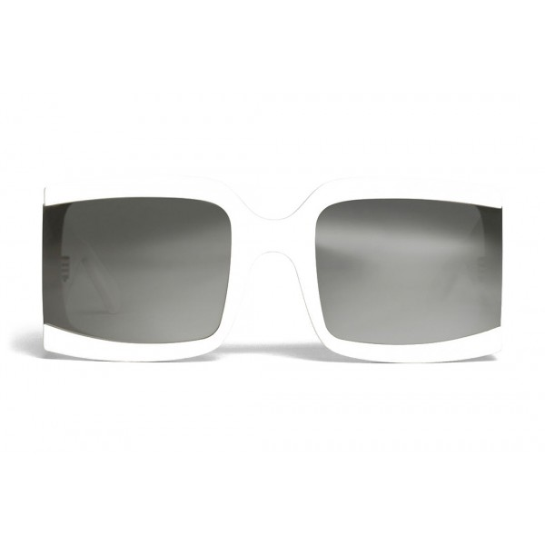 Céline - Occhiali da Sole Oversized in Acetato - Bianco - Occhiali da Sole - Céline Eyewear