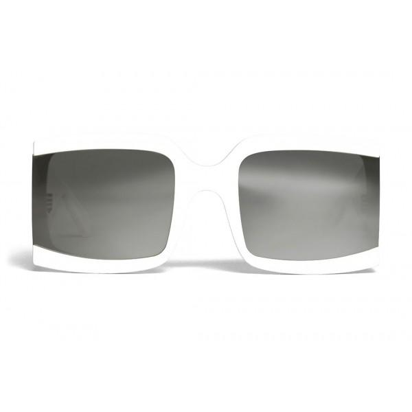 Céline - Oversized Sunglasses in Acetate - White - Sunglasses - Céline Eyewear