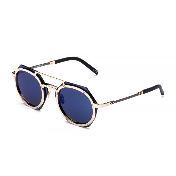 Italia Independent - Hublot H006 - Oro Blu - Hublot Official - H006.120.078 - Occhiali Sole - Italia Independent Eyewear