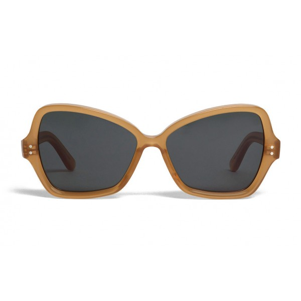 6d591c9d0c73c Céline - Butterfly Sunglasses in Acetate - Transparent Mustard - Sunglasses  - Céline Eyewear - Avvenice