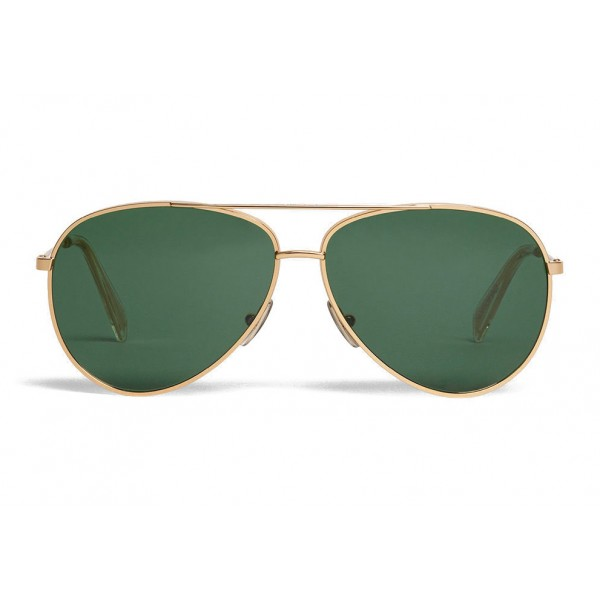 661bdcc1e9 New Céline - Aviator Sunglasses in Metal 01 - Gold - Sunglasses - Céline  Eyewear