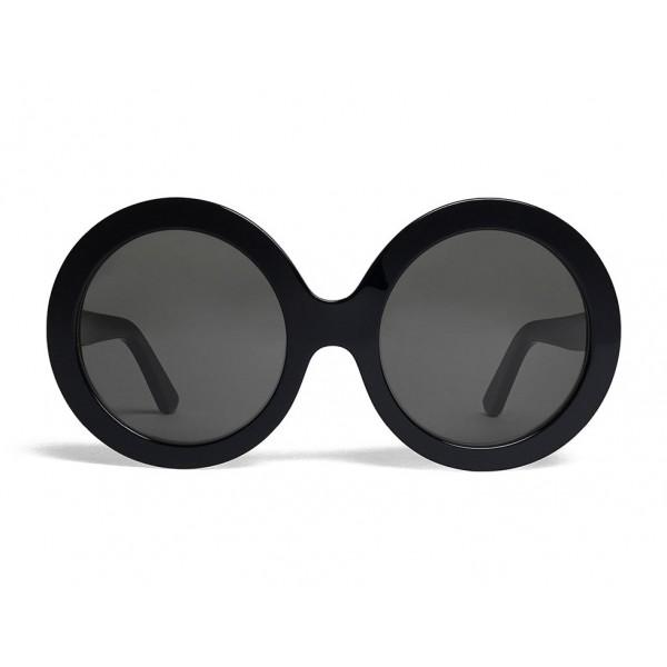 b5dc0b317d Céline - Round Sunglasses in Acetate - Black - Sunglasses - Céline Eyewear  - Avvenice