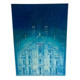 Eliza Oynus - Duomo di Milano - Installation - Silk - Linen - Gold
