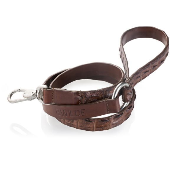 B Wilde Collection - Coco Leash - Coco Collection - Crocodile Leash - High Quality Luxury