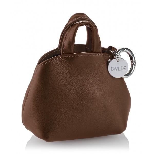 B Wilde Collection - Mini Dog Bag Dispenser - Biscouit - Wilde Collection - Leather Dispenser - High Quality Luxury