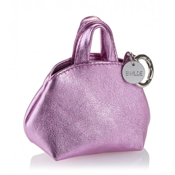 B Wilde Collection - Mini Dog Bag Dispenser - Laminated Candy - Wilde Collection - Leather Dispenser - High Quality Luxury