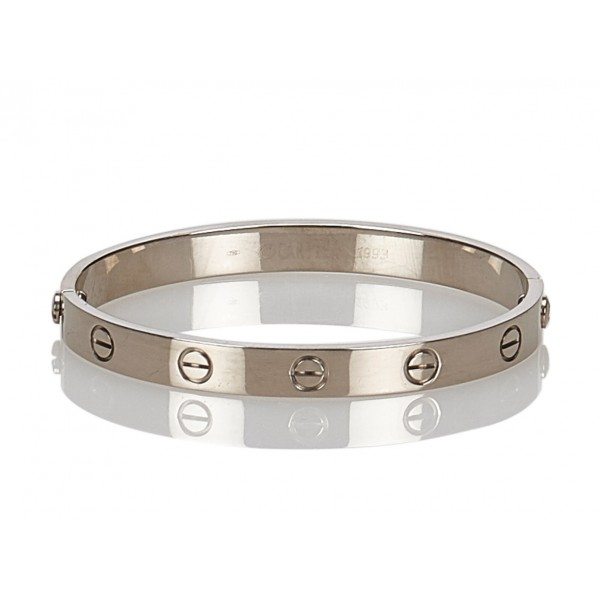 Cartier Vintage - Love Bracelet - Cartier Bracelet in White Gold - Luxury High Quality