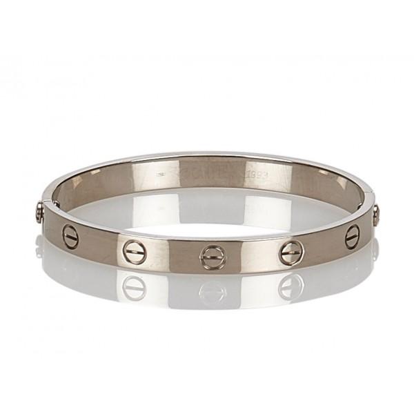 comprare popolare a7232 2d501 Cartier Vintage - Love Bracelet - Bracciale Cartier in Oro Bianco - Alta  Qualità Luxury
