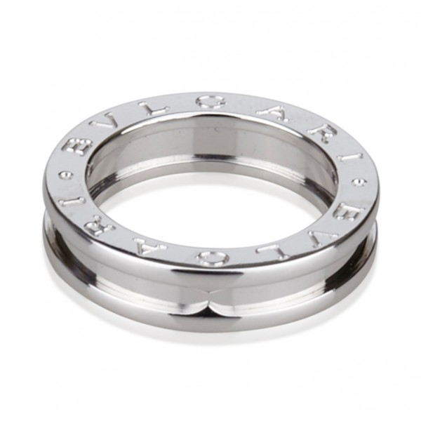 Bulgari Vintage - B.Zero1 Single Band Ring - Bvlgari Ring in 18K White Gold - Luxury High Quality