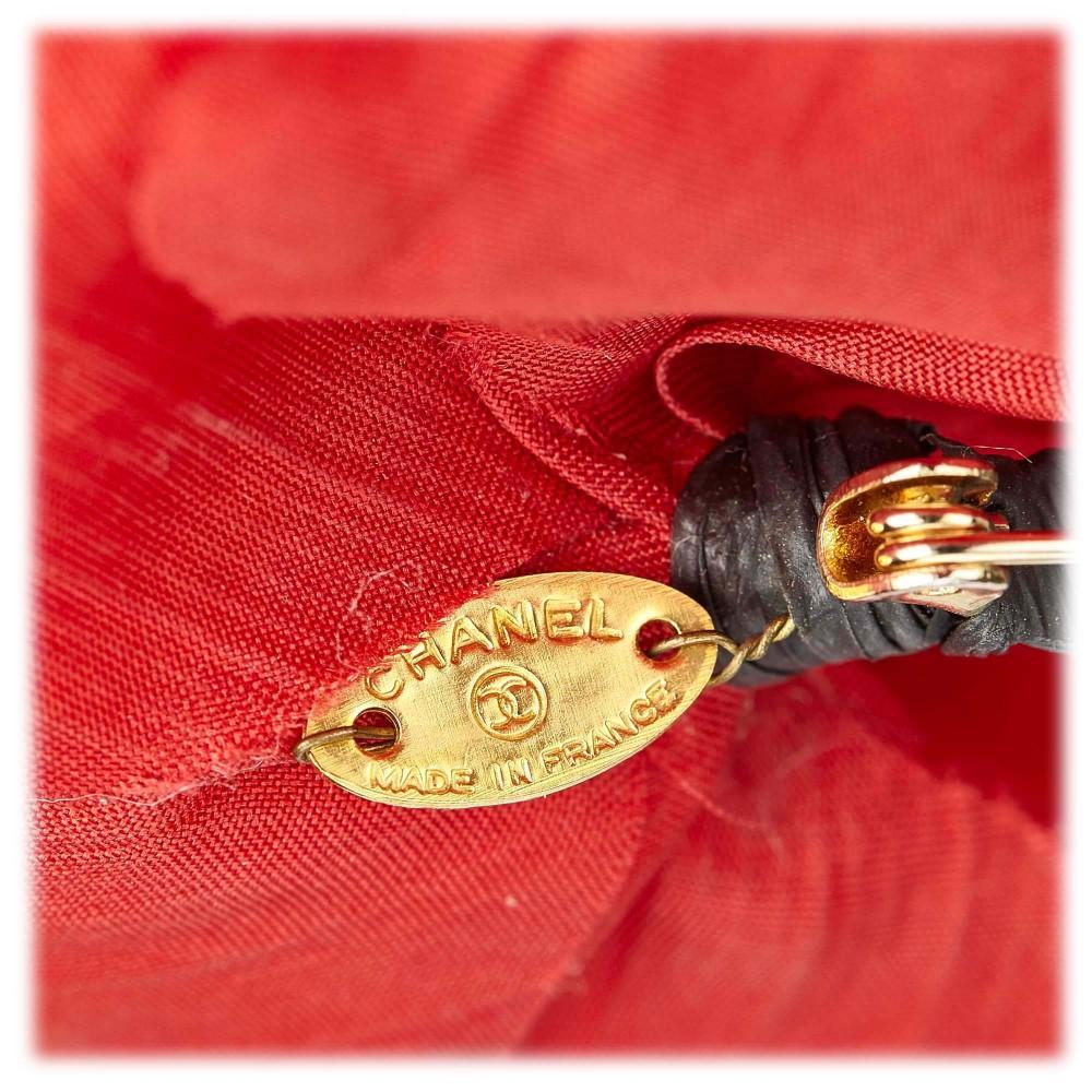 black red blue plaid fabric folding Camellia brooch