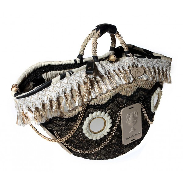 Coffarte - Great Coffassi Coffa - Sicilian Artisan Handbag - Sicilian Coffa - Luxury High Quality Handicraft Bag