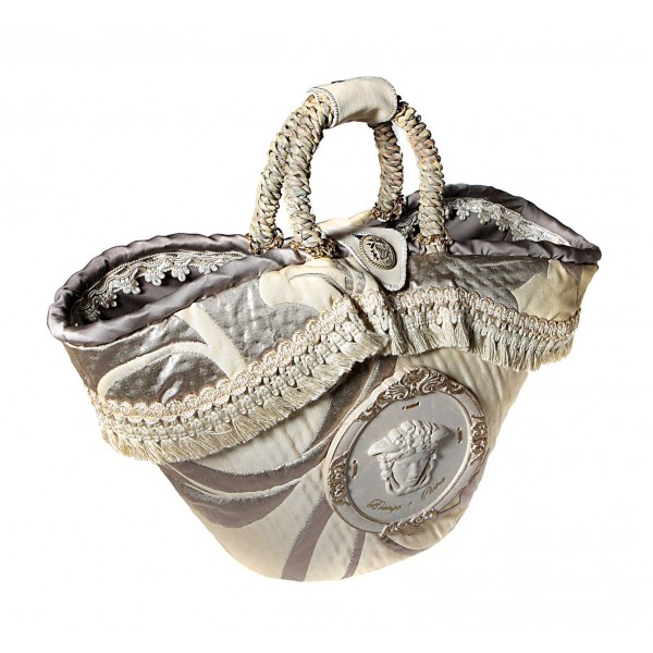 Coffarte - Medium Medusa Coffa - Sicilian Artisan Handbag - Sicilian Coffa - Luxury High Quality Handicraft Bag