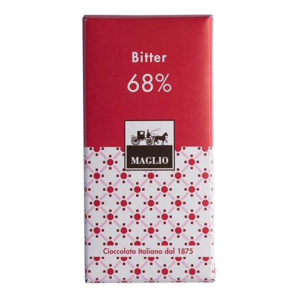 Cioccolato Maglio - Blend Chocolate Bar - Bitter 68 % Cocoa