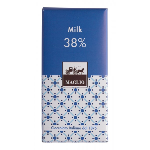 Cioccolato Maglio - Blend Chocolate Bar - Milk 38 % Cocoa