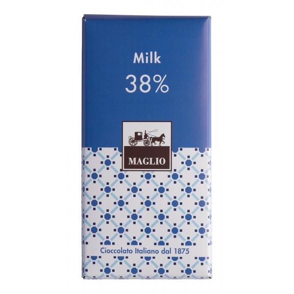 Cioccolato Maglio - Tavoletta Cioccolato Blend - Latte 38 % Cacao