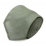 Serà Fine Silk - Light Green Grenadine - Silk Tie - Handmade in Italy - Luxury High Quality Tie