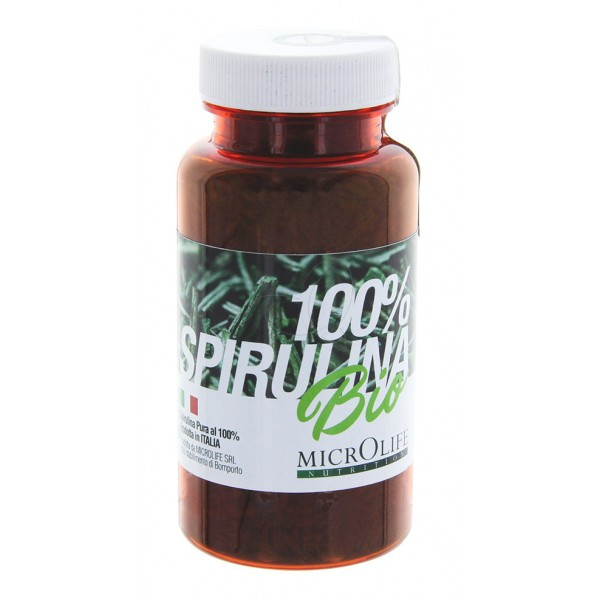 Microlife - Barrette Bio - Spirulina Biologica 100 % Italiana