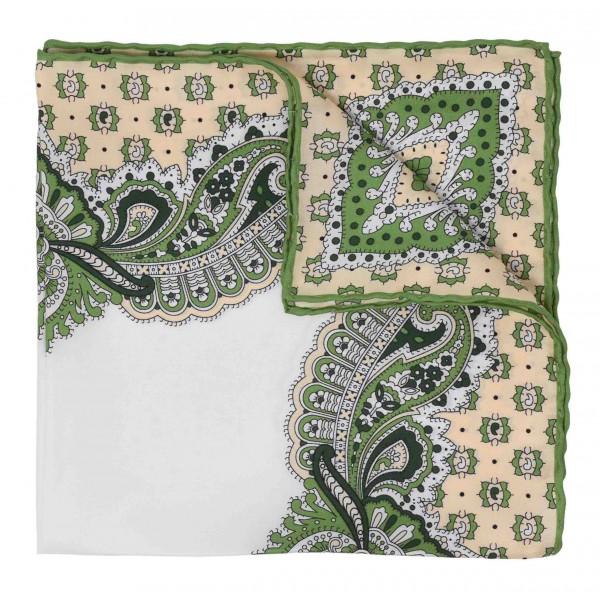 Serà Fine Silk - Fiori di Limone - Silk Pocket Square - Handmade in Italy - Luxury High Quality Pocket Square