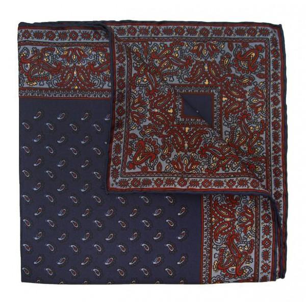 Serà Fine Silk - Elder Soave - Silk Pocket Square - Handmade in Italy - Luxury High Quality Pocket Square