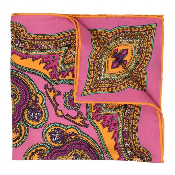 Serà Fine Silk - Positano - Pochette in Seta - Handmade in Italy - Pochette di Alta Qualità Luxury