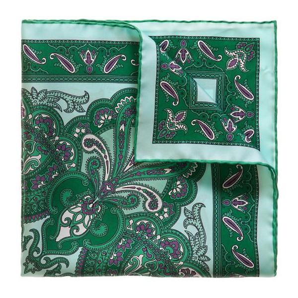 Serà Fine Silk - Sant'Erasmo - Silk Pocket Square - Handmade in Italy - Luxury High Quality Pocket Square