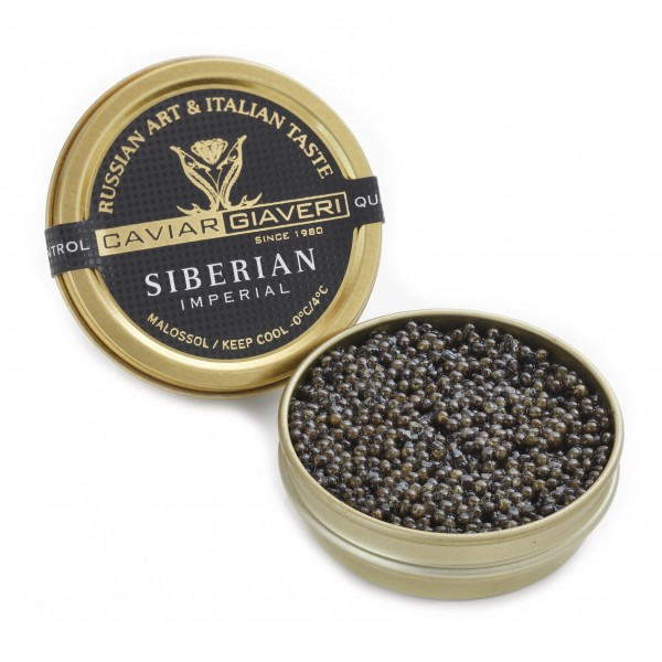 Caviar Giaveri - Caviale Siberian Imperial - 100 g
